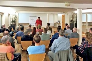 Clemens Maria Mohr hielt einen Vortrag über Mentaltraining und Persönlichkeitsentwicklung.