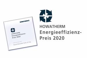 Auch 2020 wurde der Howatherm-Preis für Energieeffizienz verliehen.