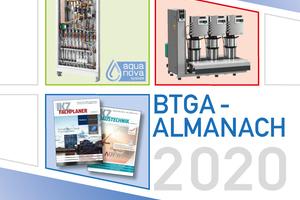 Im BTGA-Almanach 2020 werden aktuelle Trends der TGA-Branche präsentiert.<br />