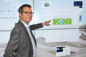 Dror Peled, General Manager Marketing & Export Sales, Living Environment Systems bei Mitsubishi Electric, erläutert im tab-Interview die Unternehmens-Nachhaltigkeitsziele.