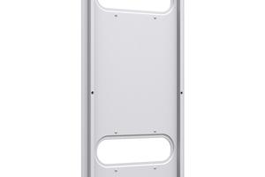 Der elektrische Heizwiderstand ist hinter einer Blende unsichtbar an der Rückseite angebracht.<br />