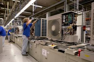 Die Produktion in Belgien war von den Einschränkungen der Corona-Krise teilweise betroffen.<br />