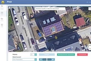 Flexible Klemmung: Die Solarmodule lassen sich sowohl an der Längsseite ...