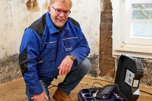 Udo Kaiser blickt auf mehr als 35 Jahre Berufserfahrung auf dem Bau zurück. Erfahrung, die sich heute bei der ganzheitlichen Betrachtung von Bestandsobjekten im Rahmen von Sanierungen auszahlt.