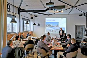 BTGA-Hauptgeschäftsführer Günther Mertz informierte über die Arbeit des Bundesverbands.