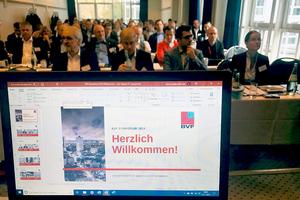Zum BVF-Symposium 2019 kamen rund 90 Teilnehmer.