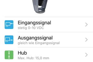 """Die Konfiguration der digitalen Stellantriebe erfolgt über die App """"HyTune"""" auf dem Smartphone, anschließend werden die Daten via Bluetooth auf den Dongle übertragen."""