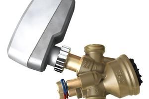 Wenn Einregulier- und Regelventil sowie Stellantrieb vom selben Hersteller stammen, ist eine sichere und störungsfreie Kommunikation gewährleistet.