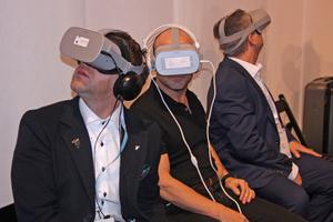 Mit Virtual Reality-Brillen konnte man die Daikin-Welt aus ganz neuen Blickwinkeln entdecken.