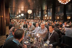Beim Festabend in Kopenhagen nutzten die Gäste aus ganz Europa die Gelegenheit zum fachlichen Austausch auch über Ländergrenzen hinweg.