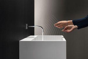 """Mit """"Touchfree"""" erweitert Dornbracht sein Produktportfolio für alle Waschtischarmaturen ..."""