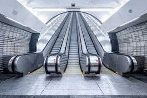  Schindler-Fahrtreppen sorgen für zuverlässige und sichere Mobilität. 