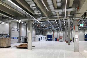 Das neue Batteriemontagezentrum der BMZ Group in Karlstein am Main