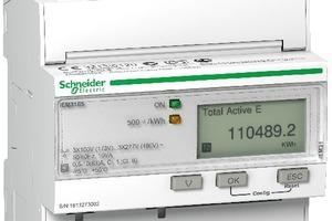"""Energiezähler der """"iEM3000""""-Serie ermöglichen Energiemessungen über BACnet-MS/TP-Protokolle.<br />"""