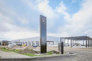 Das Rosier-Zentrum für Mercedes-Nutzfahrzeuge in Paderborn