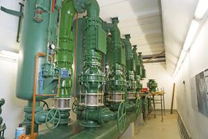 Wasserversorgung in der Luzerner Pumpstation