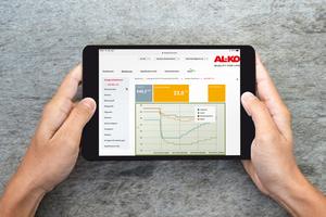 Für den einfachen Anlagenzugriff bietet AL-KO Lufttechnik ein benutzerfreundliches Anlagendashboard an.