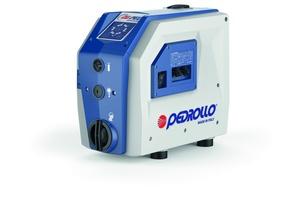 """Mehrstufige selbstansaugende Betriebswasserpumpe """"DG PED"""" mit integriertem Frequenzumrichter, Druckausdehnungsgefäß und Rückschlagventil<br />"""