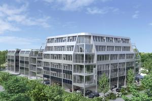 """Die Büroimmobilie """"Hatrium"""" wird als Bestandsgebäude künftig ..."""