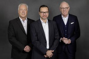 Vorstandsvorsitzender der pbr AG Dipl.-Ing. Architekt BDA Heinrich Eustrup (rechts) leitet gemeinsam mit seinen Vorstandskollegen Jörg Rasehorn (links) und Erik Fiedler (mitte) die Geschicke des Unternehmens.
