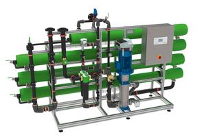"""Die Umkehrosmoseanlagen """"osmoliQ"""" sind dank innovativer Umkehrosmose-Technik funktional und sicher und sorgen für optimal entsalztes Wasser."""