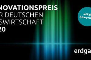 Der Innovationspreis der deutschen Gaswirtschaft wird seit 1980 alle zwei Jahre verliehen.