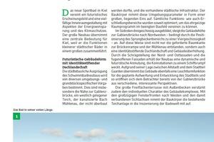 Bei den zum Teil recht umfangreichen Bauanalysen reicht das Spektrum von öffentlichen Gebäuden aller Art, wie dem Sport- und Freizeitbad in Kiel in diesem Jahr, …