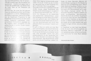 Das Schauspielhaus, das bereits in der tab 5/1971 beschrieben wurde, wird aktuell saniert. Eine aktuelle Bauanalyse dazu lesen Sie ab Seite 40 in dieser Ausgabe.