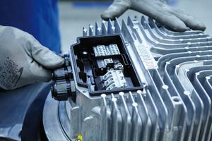 ebm-papst stellt Industrie-4.0-fähige Produkte her und vernetzt die Produktionsprozesse.