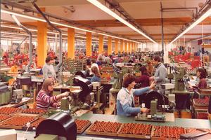 Die Produktion am Standort Niederstetten beginnt 1981 mit eigener Wickelei.