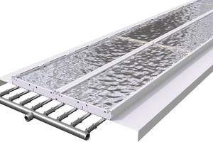 """Deckenstrahlplatten Zehnder-""""ZFP"""" liefern einen erhöhten Strahlungsanteil von bis zu 89 % der Gesamtleistung."""