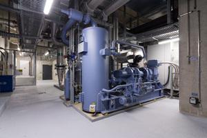 """Etwa 2.300 kW Kälteleistung stellt jeder der beiden Flüssigkeitskühlsätze """"Grasso FX"""" von GEA zur Verfügung."""