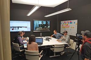 Ortsunabhängige Kollaboration: Das digitale Gebäudemodell und BIM-Daten in der Cloud ermöglichen den Fachleuten eine interdisziplinäre, ortsunabhängige Zusammenarbeit.