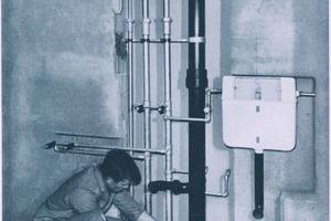 Sanitärinstallation früher und heute – der Unterputz-Spülkasten ...