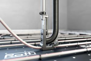 Eine Federunterstützung für bessere Kraftübertragung sorgt heute für zügige und komfortable Installationen.