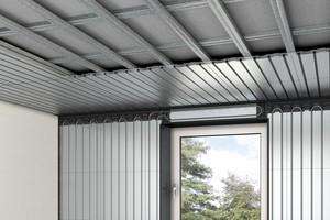 Neben dem Boden kommen heute auch Wände und Decken als Energieflächen in Betracht. Die Roth-Komfortdecken verwandeln Raumdecken in Strahlungsflächen, die Räume im Sommer angenehm kühlen und im Winter behaglich wärmen.