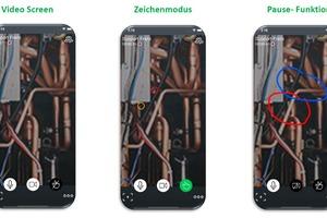 """Bei der interaktiven Lösung """"Daikin Virtual Genba Walk"""" wird der technische Support des Herstellers auch visuell mit dem Anlagenbauer vernetzt."""
