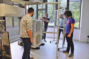 Mitsubishi Electric startet Mitte August wieder mit Präsenzveranstaltungen im Trainingszentrum Ratingen.