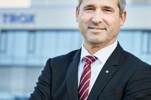 Udo Jung, Geschäftsführer Trox GmbH, stellte sich den Fragen der tab-Redaktion.
