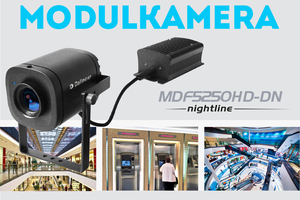 Dank ihres dezenten Erscheinungsbildes eignet sich die Kamera vor allem auch für Anwender aus den Branchen Einzelhandel oder Banken.<br />