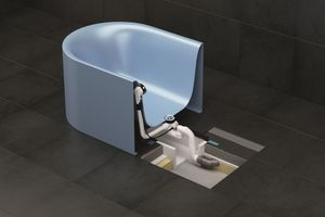 ... freistehende Badewannen schneller, einfacher und normgerecht sicher installieren.
