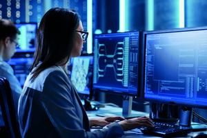 Die kontinuierliche Überwachung der Systeme erlaubt es dem SCC-Team von Johnson Controls, unmittelbar zu reagieren.