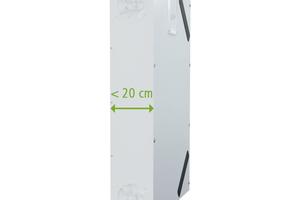 """Mit den Lüftungsgeräten """"x-well F130"""" und """"x-well F150"""" lässt sich eine zentrale Wohnraumlüftung mit Wärmerückgewinnung einfach nachrüsten."""
