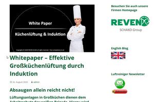 In einem Blog informiert Rentschler Reven über die Großküchenlüftung.<br />
