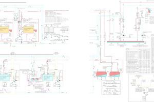 """<div class=""""Bildtitel"""">Das Schema der Energiezentrale für die Wärmeerzeugung. </div>"""