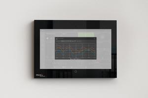 """""""Smart Home""""-Besitzer können sich Diagramme zu verschiedenen Sensorwerten im Haus anzeigen lassen und Szenen bequem per Drag-and-Drop erstellen.<br />"""