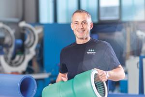 """Die aquatherm-Steckmuffen stellen eine einfache und schnelle, dennoch sichere Verbindungsart für aquatherm-""""blue pipe""""-Rohrleitungssysteme dar."""