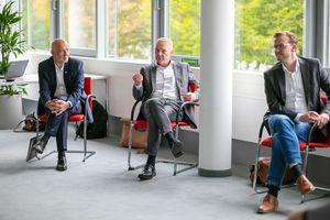 Gründung der wibutleralliance e.V. mit Sitz in Münster (v.l.n.r.): Christof Burmann (Oventrop), Mario Besseling (Hans Sasserath) und Dr. Christoph Batzilla (Wolf)