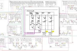 """<div class=""""Bildtitel"""">Größere Anlagenübersichten können bei der GTS-Netzservice GmbH </div>schon mal mehrere hundert Seiten haben und bis zu 2 m breit sein. Die digitale Erfassung sämtlicher Anlagen- und Funktionsschemata ermöglicht den Gebäudetechnikern ein schnelles Eingreifen bei Wartungs- und Instandhaltungsaufgaben."""
