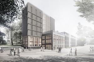 Das Projekt re.create entstand aus einer studentischen Zusammenarbeit von zwölf Studenten der Technischen Universität München, der Ostbayerischen Technischen Hochschule sowie der International Real Estate Business School Regensburg.